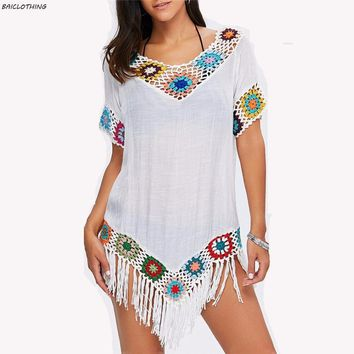 Embroidered Kaftan Tunic