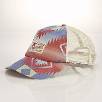 Polo Ralph Lauren Printed Trucker Hat - Multi