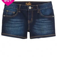 Clean Hem Denim Shorts