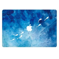 Fish Watercolor Skin Sticker Cover For Mac Computer