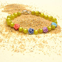 Mixed Peruvian Flowers Bracelet