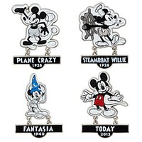 Mickey Mouse Pin Set - Walt Disney Studios | Disney Store