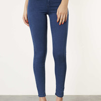 MOTO Dark Vintage Joni Jeans - Joni Super High Waisted Jeans - Jeans - Clothing - Topshop