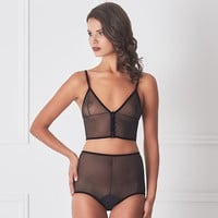 Sexy Sheer Mesh Lingerie Set Amoralle