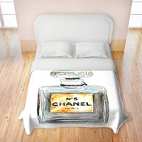 Marley Ungaro's 'Chanel No. 5' | Designer Duvet Covers