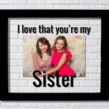 Aunt Frame Floating Frame Only The Best Sisters Get Promoted To
