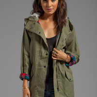 MINKPINK Dad's Army Anorak in Khaki from REVOLVEclothing.com