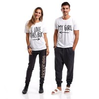 T-Shirt Coppia - Boy Girl *Only Positive Vibes* Official Online Store
