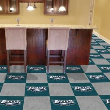 Philadelphia Eagles Team Carpet Tiles