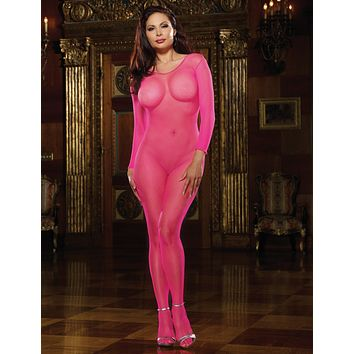 Plus Size Amsterdam Fishnet Bodystocking