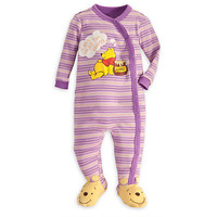 Disney Winnie the Pooh Stretchie Sleeper for Baby | Disney Store