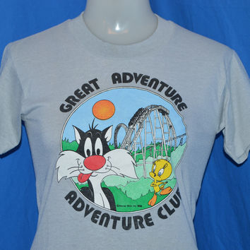 90s Great Adventure Club Sylvester Tweety t-shirt Youth Large