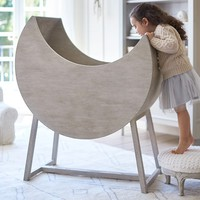 Moon Bassinet & Mattress Pad Set