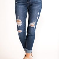 Speak Now Jeans (Dark Wash)