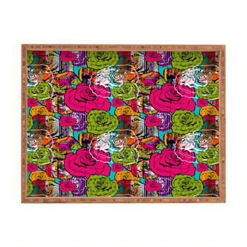 Aimee St Hill Bright Roses Rectangular Tray