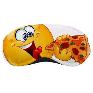 Pizza Emoji Sleeping Mask