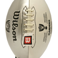 Oakland Raiders Wilson Team Logo Football