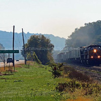 Train Photography Landscape  Art Print  CSX Train