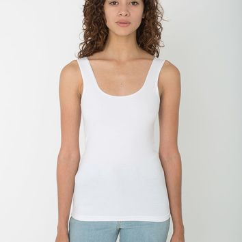 rsa8395 -  Cotton Spandex Scoop Tank