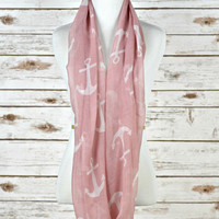 Drop Anchor Scarf - Pink
