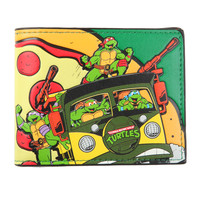 Teenage Mutant Ninja Turtles It's Pizza Time Bi-Fold Wallet