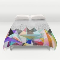 Colorflash 3 Duvet Cover by Mareike Böhmer Graphics