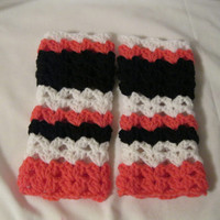 Fingerless gloves Crochet for Women and Teen Girl's Winter Accessory Winter Fashion Handwarmers Striped