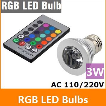 RGB Remote Control Dimmable LED Light Kit