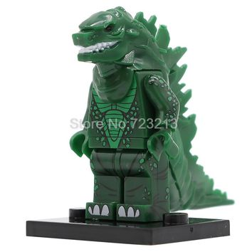 Single Sale Godzilla Figure Movie Predator Building Blocks Set Model Kits Bricks Toy for Children PG1147