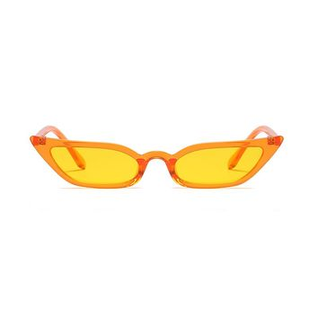 Slim Starstruck Sunglasses | Yellow