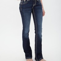 Miss Me Glitter Boot Stretch Jean