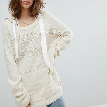 Free People Candy Crochet Hoodie at asos.com