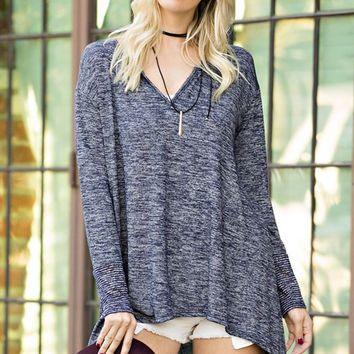 Lovely Loose Fit Soft Long Sleeve Top