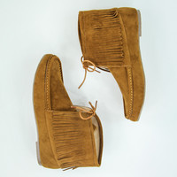 Majestic Moccasins in Tan