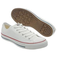 Athletics Converse Men's All Star Core Ox         Optical White Shoes.com