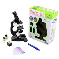 Toy Microscope Set Kids and Student Science Library Tools Boys and girls