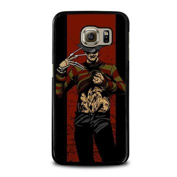 freddy krueger 1 samsung galaxy s6 case cover  number 1