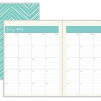 July 2015 - June 2016 Susy Jack Herringbone Monthly Stapled Planner 8.5x11