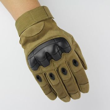 Fight Full Finger Glove Motocycle Bicycle Mittens Army Military Tactical Gloves Protective Safety Gloves