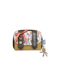 Gingerbread man wallet from the Once Upon A Time range by Disaster Designs | Little Moose | Quirky jewellery and playful accessories that raise a smile and stand out from the crowd