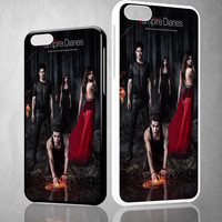 Vampire diaries season 5 posters Z0151 iPhone 4S 5S 5C 6 6Plus, iPod 4 5, LG G2 G3, Sony Z2 Case