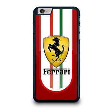ferrari iphone 6 6s plus case cover  number 1