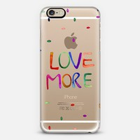 LOVE More iPhone 6 case by Cayena Blanca | Casetify