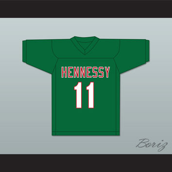 Prodigy 11 Hennessy Green Football Jersey
