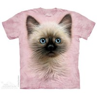 Black & Tan Kitten T-Shirt - The Mountain