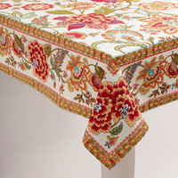 Kavita Floral Tablecloth - World Market