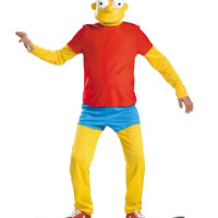 The Simpsons Bart Simpson Deluxe Child Costume