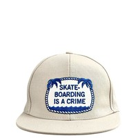 Skateboarding Is A Crime Hat
