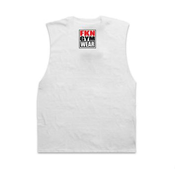 FKN Gym Wear Fuck Sleeves - White