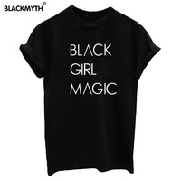 BLACK GIRL MAGIC Short Sleeve T-shirt